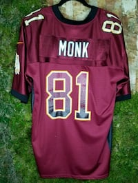 Art Monk Washington Redskins Jersey #81 2276 mi
