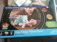 Discovery 14 in 1 solar robot