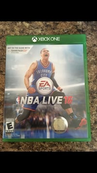 NBA live 16 Xbox One Riverside, 92504
