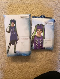 NEW Girl's costume and wig XL 16 Ashburn, 20147