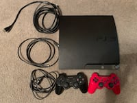 PS3 w/ 2 controllers/ cables/ games Hedgesville