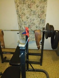 black and red bench press North Little Rock, 72114