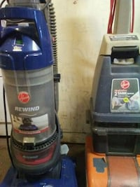 black and gray Hoover upright vacuum cleaner Fresno, 93703