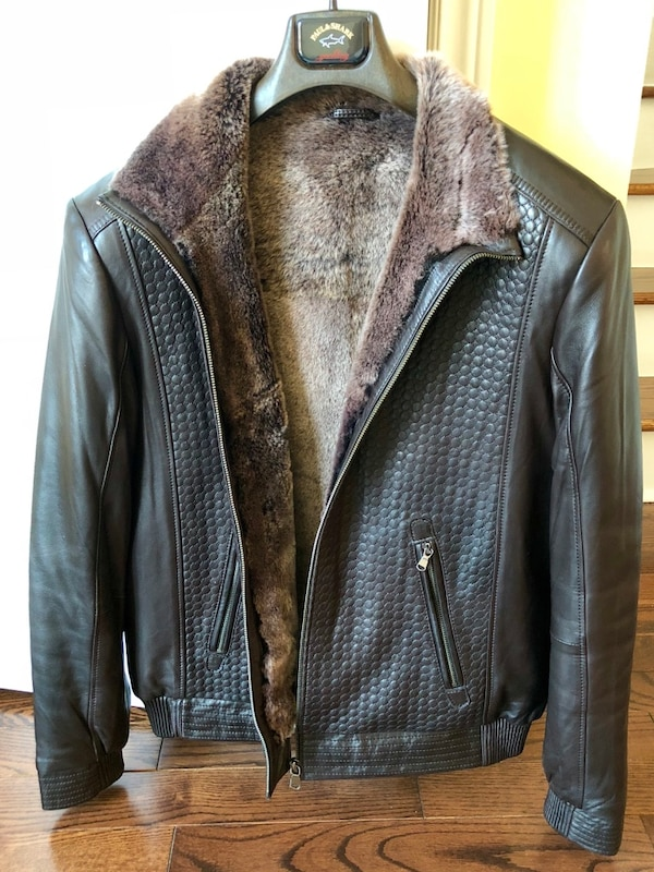 12ec6f353fb1 Used RM2 Montreal Men s shearling leather jacket size 42 for sale in  Toronto - letgo