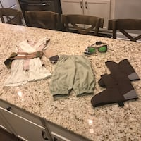 Disney Store Star Wars Rey size 4 Costume.  Meet in Hardin Valley, Cedar Bluff or available also in Clinton.  Crossposted.  Smoke free home.  Asking $15 for outfit. Knoxville, 37932