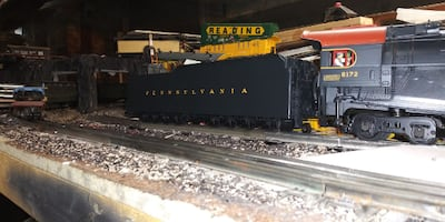 lionel / MTH scale J1 PRR 2-10-4 locomotive.