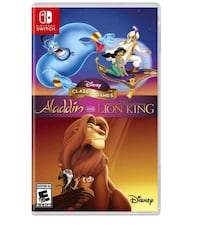 Aladdin and the lion King Switch Sterling, 20164