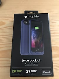 Mophie iPhone 7 Battery Case - Blue