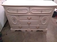 white and gray wooden dresser Tracy, 95376