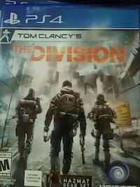 The Division PS4 game case Bentonville, 72712