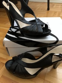 Nine West black heels Vaughan, L4L 1E9