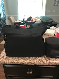 black and gray travel cot Concord, 28025