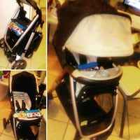 baby's white and black stroller Clinton, 39056