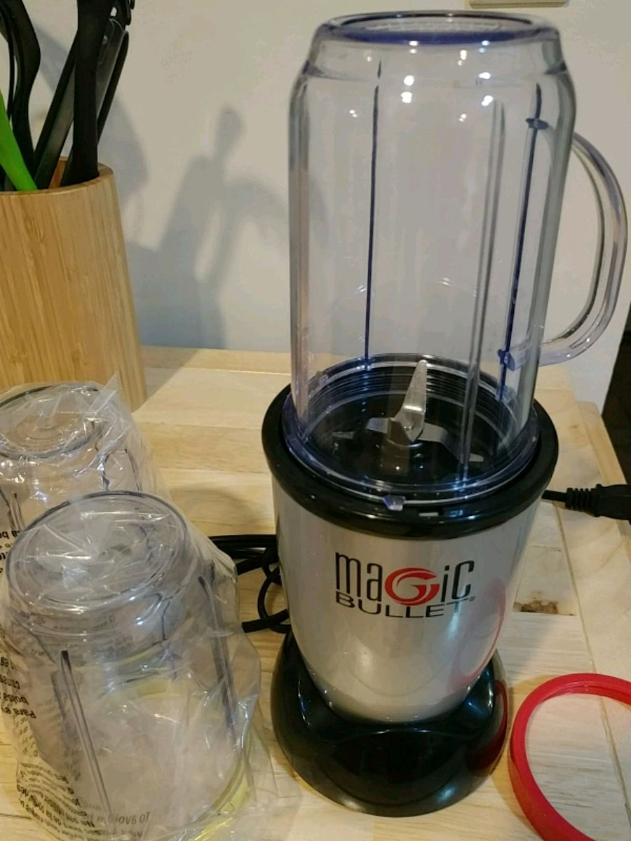 black and gray Magic Bullet blender for sale  East Rockaway