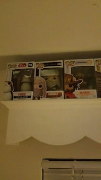 three Pop ! vinyl figures Falls Church, 22041