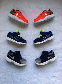 Nike & Under Armour Shoes (Toddler) Nashville