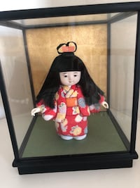Japanese Doll and case Long Beach, 90814