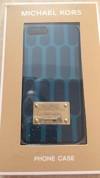 blue and black Michael Kors iPhone X case box 2031 mi
