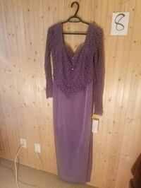 Plum gown 3730 km