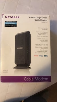 High Speed Cable Modem Milton, 25541