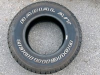 All terrain tires set of two - new Aurora