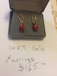 14kt gold earrings  Arlington, 22204