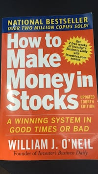 Brand New Book How to Make Money in Stocks by William O'Neil