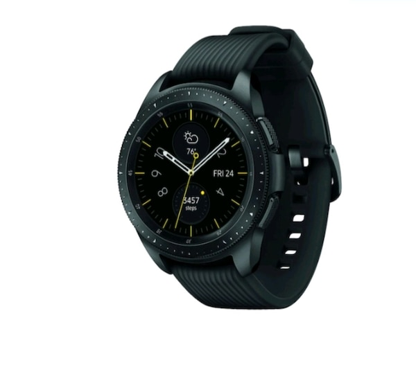 SAMSUNG GALAXY WATCH (42MM) MIDNIGHT BLACK (LTE) 0