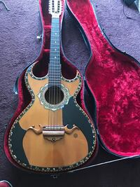 brown acoustic guitar with case Wasco, 93280