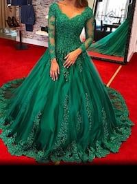Green Cinderella style gowns ,scroll down to view more Brampton, L6V 3X9