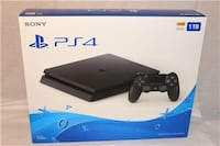 Unopened PS4 Slim 1TB Console - reasonable offers ok