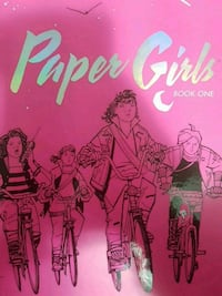Paper girls book one Hardcover
