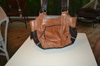 Brown leather purse CONCORD
