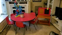 Kids table, new chairs Ashburn, 20147