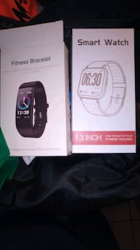 Smart watches the one on the left is 40$ and the right one 100$ Toronto, M6N 1T1