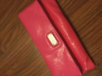 Nine West pink clutch in pink