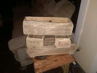 Rustic boxes 15 to 20 dollars each Modesto