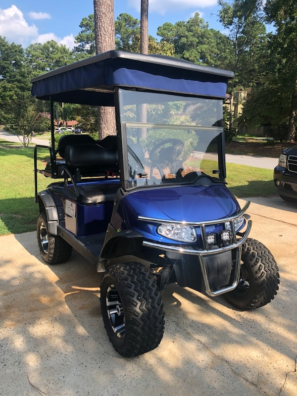 Used 2015 Ezgo RXV Golf Cart for sale in Peachtree City - letgo  Ezgo Rxv Golf Cart White on lincoln on a rail cart, 2013 ezgo txt, 2013 ezgo electric golf cart,