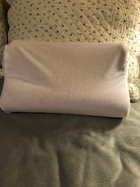 Memory foam pillow.  Small size for comfort in seating , leaning against things or sleeping.  Free delivery. Washable cover  London, N5Y 4A6