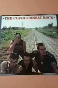 "The Clash ""Combat Rock"" vinyl album La Plata, 20646"
