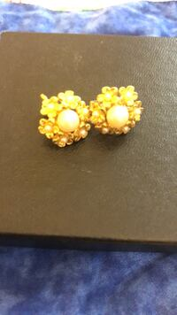 Pear Earring with Flowers with Pears  Baltimore, 21236