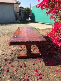 Amazing hand crafted Rocky mountain Douglasfir coffee table with resin detailing circa 1958 I believe. Or best offer Los Angeles, 90031