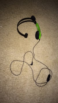 green and black corded headset Woodbridge, 22193