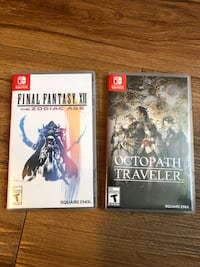 Nintendo Switch Games - FF12 & Octopath Traveler Halifax, B3H