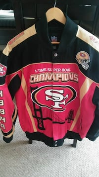 Sf 49ers Championship Jacket