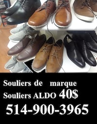 LIQUIDATION SOULIERS DE MARQUE / SHOES for sale