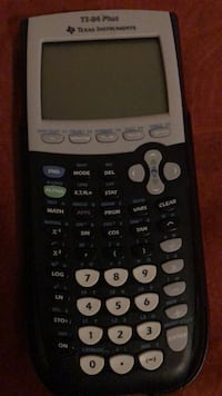 Ti 84 graphing calculator pretty cheap usually goes for 80 to 100 used for like a month Casper, 82604