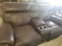 Leather couch and Loveseat. Houston, 77064