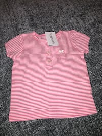 pink and white striped polo shirt Palm Springs, 92262