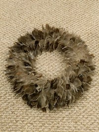 2 Decorative Feather wreaths Hasbrouck Heights, 07604